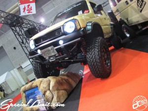 Osaka Auto Messe 2014 Car & Customize Motor Show Intex Custom High Bridge First JIMNY Cross Country