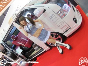 Osaka Auto Messe 2014 Car & Customize Motor Show Intex Custom The Elegance HIACE Campaign Girl