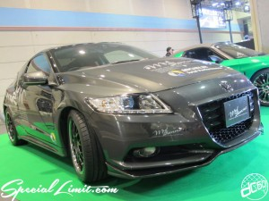 Osaka Auto Messe 2014 Car & Customize Motor Show Intex Custom Mid Sanne HONDA CR-Z