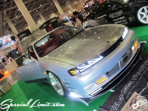 Osaka Auto Messe 2014 Car & Customize Motor Show Intex Custom GLOSS S15 Silvia