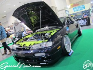 Osaka Auto Messe 2014 Car & Customize Motor Show Intex Custom S15 Silvia Falken