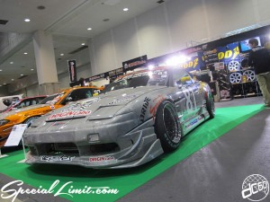 Osaka Auto Messe 2014 Car & Customize Motor Show Intex Custom ORIGIN GT 180SX Body Kit Silver Carbon Steel wheel