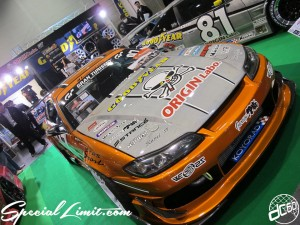 Osaka Auto Messe 2014 Car & Customize Motor Show Intex Custom ORIGIN GT 180SX Body Kit Silver Carbon