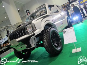 Osaka Auto Messe 2014 Car & Customize Motor Show Intex Custom ORIGIN Labo. JIMNY Body Kit