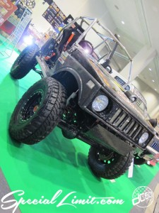 Osaka Auto Messe 2014 Car & Customize Motor Show Intex Custom ORIGIN Labo. JIMNY JA11 Body Kit Steel wheel