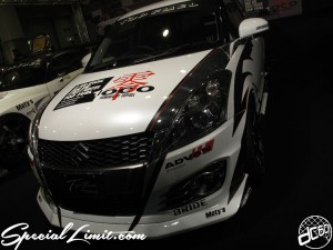 Osaka Auto Messe 2014 Car & Customize Motor Show Intex Custom TOP FUEL SWIFT SUZUKI GT Racing
