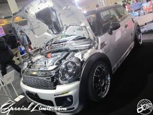 Osaka Auto Messe 2014 Car & Customize Motor Show Intex Custom MINI Cooper POWER CHAMBER Top Fuel