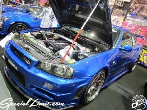 Osaka Auto Messe 2014 Car & Customize Motor Show Intex Custom R34 Skyline GT-R RB26 PIT ROAD M