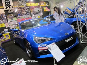 Osaka Auto Messe 2014 Car & Customize Motor Show Intex Custom PIT ROAD M BRZ SUBARU ENKEI MOTUL STI Performance