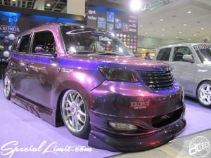 Osaka Auto Messe 2014 Car & Customize Motor Show Intex Custom SIGNAL KRONOS bB TOYOTA Slammed Show UP Paint DRY PEARLS