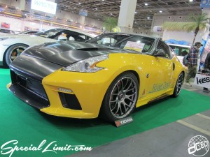 Osaka Auto Messe 2014 Car & Customize Motor Show Intex Custom Rocket Dancer Fairlady Z34 Body Kit FUJIMURA Auto