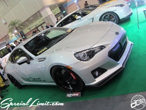 Osaka Auto Messe 2014 Car & Customize Motor Show Intex Custom Fujimura Auto Rocket Dancer SUBARU BRZ ADVAN
