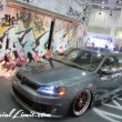Osaka Auto Messe 2014 Car & Customize Motor Show Intex Custom GAKUYA VW Type2 BUS Creatuve Kufe T5 MALTIVAN US JETTA MK6 T2 VAG CRIMSON RS MAXI
