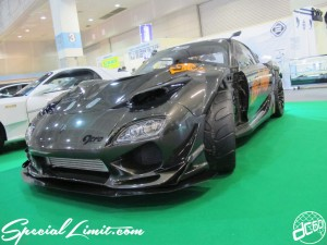 Osaka Auto Messe 2014 Car & Customize Motor Show Intex Custom FD3S MAZDA RX-7