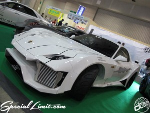 Osaka Auto Messe 2014 Car & Customize Motor Show Intex Custom MAZDA RX-7 FD3S Wide Body