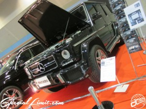 Osaka Auto Messe 2014 Car & Customize Motor Show Intex Custom Only Mercedes GL Gerende