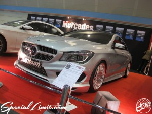 Osaka Auto Messe 2014 Car & Customize Motor Show Intex Custom Carlsson Only Mercedes CLA