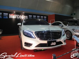 Osaka Auto Messe 2014 Car & Customize Motor Show Intex Custom Only Mercedes Sonic Design BENZ