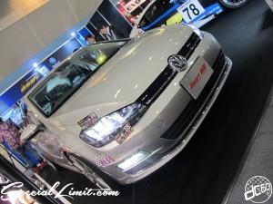 Osaka Auto Messe 2014 Car & Customize Motor Show Intex Custom SMART HID VW