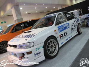 Osaka Auto Messe 2014 Car & Customize Motor Show Intex Custom SUBARU IMPREZA BOXER Racing Gear LUVIX Lubross KM1