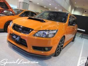 Osaka Auto Messe 2014 Car & Customize Motor Show Intex Custom SUBARU EXIGA AUTO PRODUCE A3 Orange