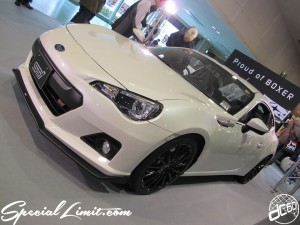 Osaka Auto Messe 2014 Car & Customize Motor Show Intex Custom SUBARU BRZ STi Proud of BOXER