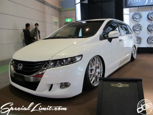 Osaka Auto Messe 2014 Car & Customize Motor Show Intex Custom TOMMYKAIRA ART COMPLETE HONDA Odyssey Body Kit KAZ SUS