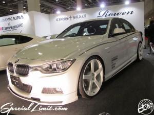 Osaka Auto Messe 2014 Car & Customize Motor Show Intex Custom TOMMYKAIRA ART COMPLETE BMW F30 Body Kit Rowen