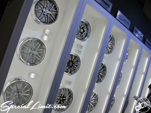 Osaka Auto Messe 2014 Car & Customize Motor Show Intex Custom WORK Wheels GNOSIS BALMUNG DULANDAL