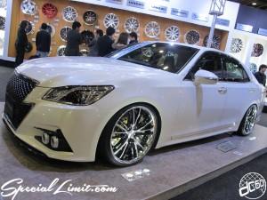 Osaka Auto Messe 2014 Car & Customize Motor Show Intex Custom WORK Wheels CROWN Athlete GNOSIS DURANDAL