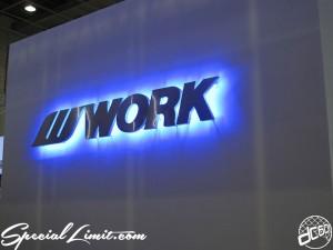 Osaka Auto Messe 2014 Car & Customize Motor Show Intex Custom WORK Booth