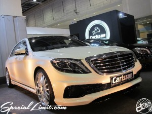 Osaka Auto Messe 2014 Car & Customize Motor Show Intex Custom BENZ Carlsson S-Class