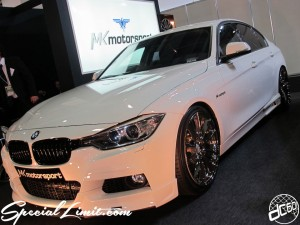 Osaka Auto Messe 2014 Car & Customize Motor Show Intex Custom MK motorsport F30 BMW