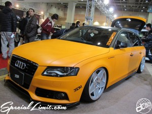 Osaka Auto Messe 2014 Car & Customize Motor Show Intex Custom Audi Touring 3SDM Wheels S&COMPANY
