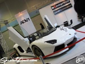 Osaka Auto Messe 2014 Car & Customize Motor Show Intex Custom bondgroup AVD.1 Lamborghini Wheels