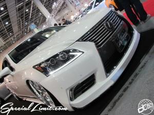 Osaka Auto Messe 2014 Car & Customize Motor Show Intex Custom GARAGE ANSWER LEXUS LS