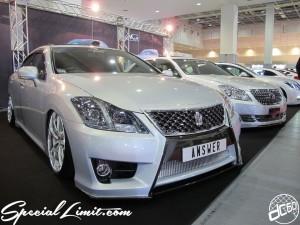 Osaka Auto Messe 2014 Car & Customize Motor Show Intex Custom ANSWER CROWN