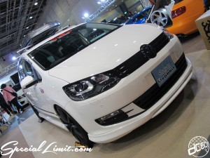 Osaka Auto Messe 2014 Car & Customize Motor Show Intex Custom rabbit VW Sharan KW Continental THULE JET BAG