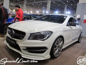 Osaka Auto Messe 2014 Car & Customize Motor Show Intex Custom PiECHA Mercedes Benz
