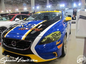 Osaka Auto Messe 2014 Car & Customize Motor Show Intex Custom ERST VOLVO Racing BOLD WORLD Smart Pirelli