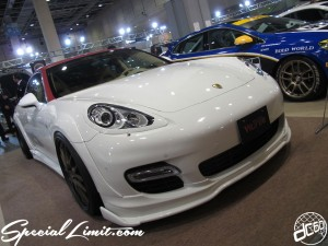 Osaka Auto Messe 2014 Car & Customize Motor Show Intex Custom PORSCHE PANAMERA Wurde Wide Body Slammed