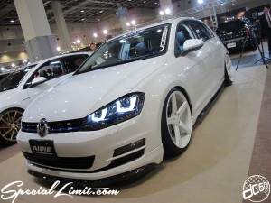 Osaka Auto Messe 2014 Car & Customize Motor Show Intex Custom ALPIL GOLF VI VOSSEN NITTO NEWING