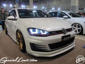 Osaka Auto Messe 2014 Car & Customize Motor Show Intex Custom ALPIL VW Golf VI GTI NEWING NITTO Vossen