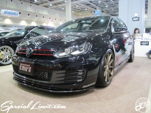 Osaka Auto Messe 2014 Car & Customize Motor Show Intex Custom Emu's Engineering VW Golf IV GTI POWERFLEX
