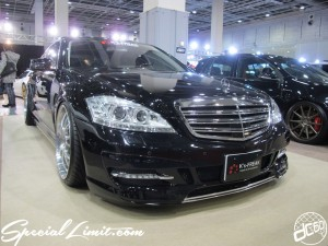 Osaka Auto Messe 2014 Car & Customize Motor Show Intex Custom K's-FREAK Mercedes Benz W221 S Class