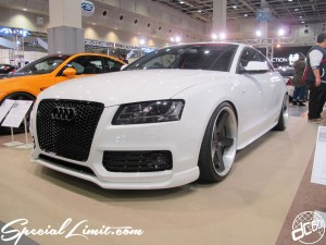Osaka Auto Messe 2014 Car & Customize Motor Show Intex Custom Audi A5 Slammed