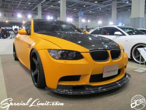 Osaka Auto Messe 2014 Car & Customize Motor Show Intex Custom HYPER FORGED BMW E92 M3 Matte Orange VIP Cars