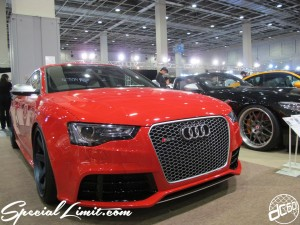 Osaka Auto Messe 2014 Car & Customize Motor Show Intex Custom Audi RS5 Slammed