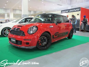 Osaka Auto Messe 2014 Car & Customize Motor Show Intex Custom GIOMIC BMW MINI Cooper S G156RS