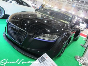 Osaka Auto Messe 2014 Car & Customize Motor Show Intex Custom GECKO Audi TT Coupe Wide Body Garage ILL Universal Air Lamborghini Wheel Slammed Air Ride